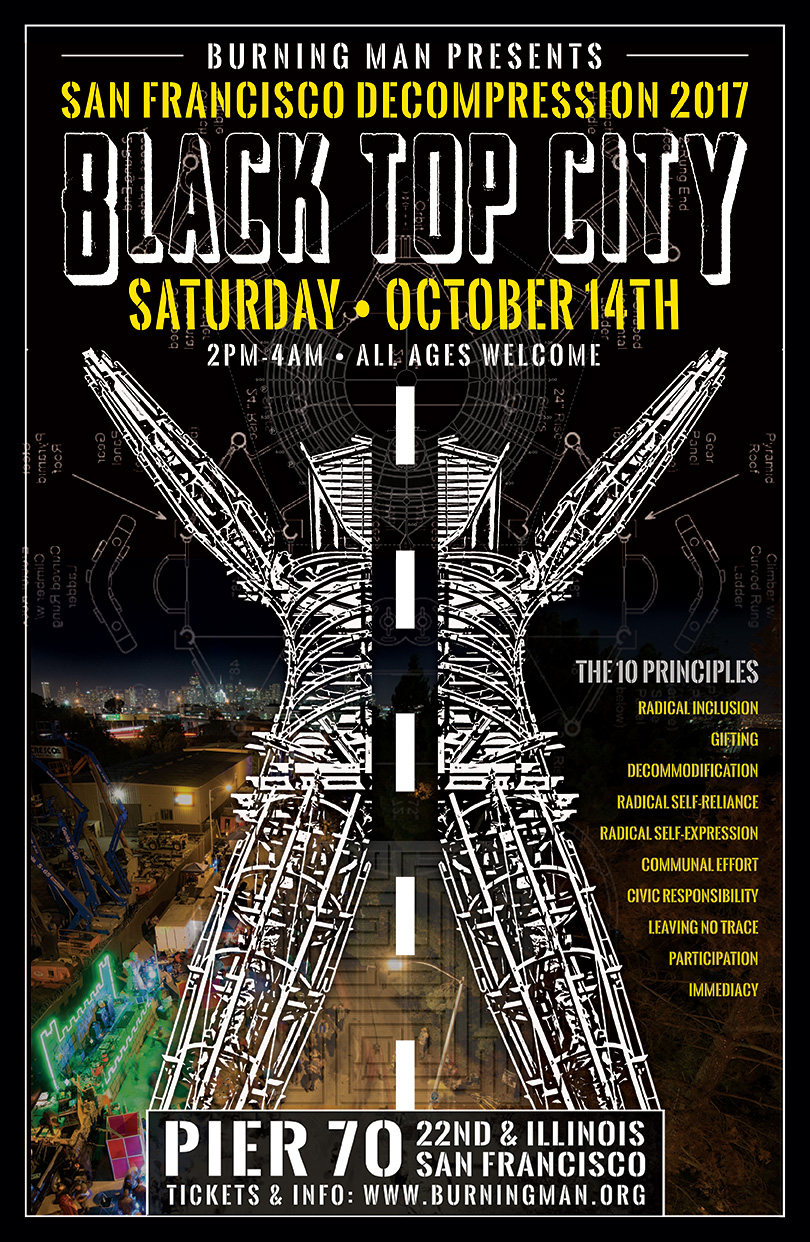 Gooferman plays Burning Man Decompression 2017 - October 14, 2017 - Pier 70 in San Francisco
