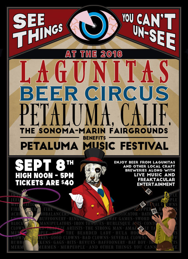 Gooferman plays Lagunitas Beer Circus - September 8, 2018 - Sonoma Fairgrounds in Petaluma, California