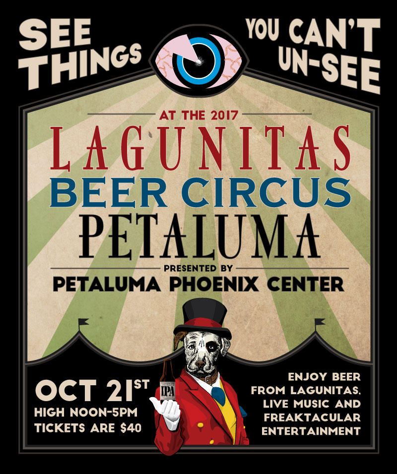 Gooferman plays Lagunitas Beer Circus - October 21, 2017 - Sonoma Fairgrounds in Petaluma, California