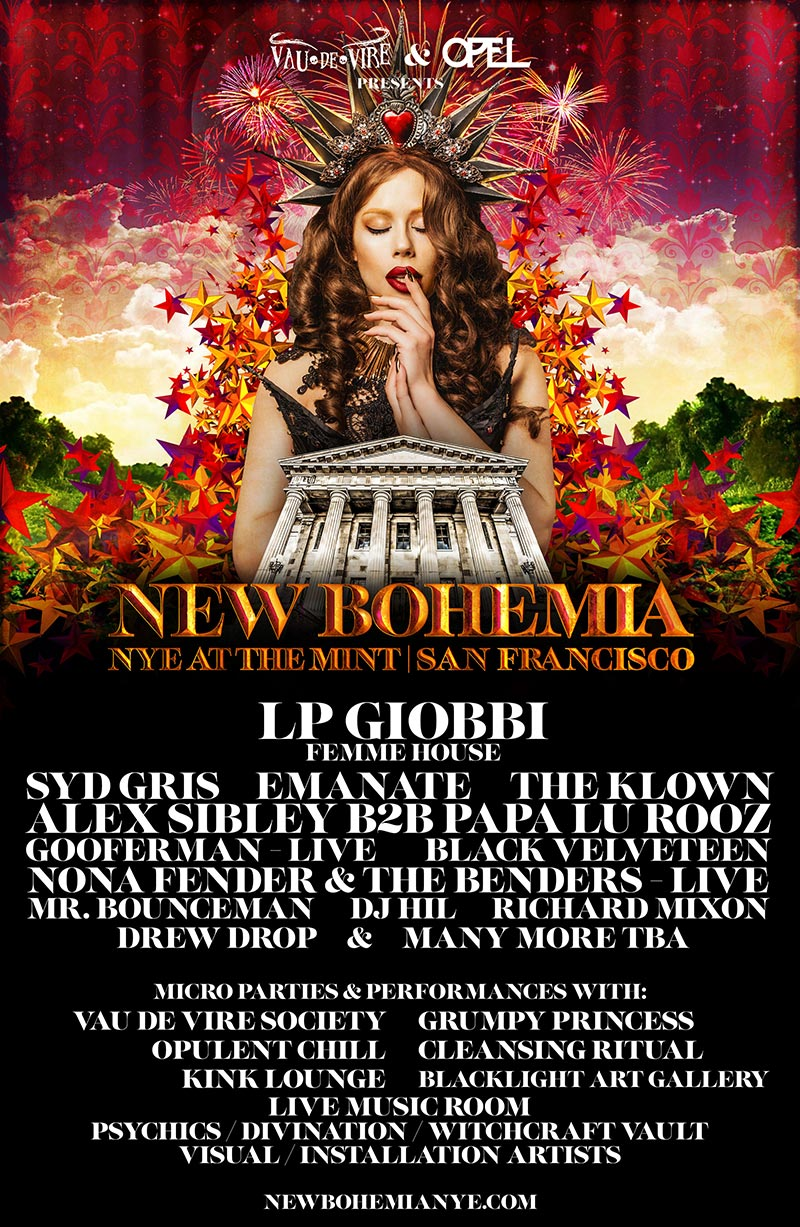 Gooferman performs at New Bohemia NYE - December 31, 2018 - The Mint in San Francisco